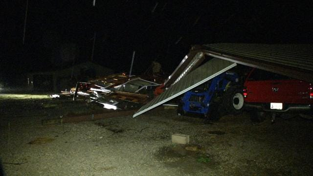 Green Country Wakes To Power Outages, Storm Damage
