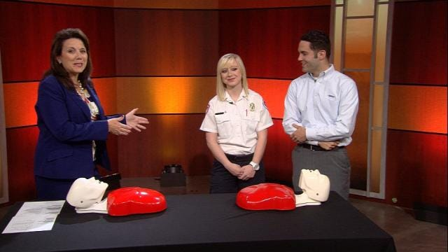EMSA Offers Free CPR Class Wednesday At Guthrie Green