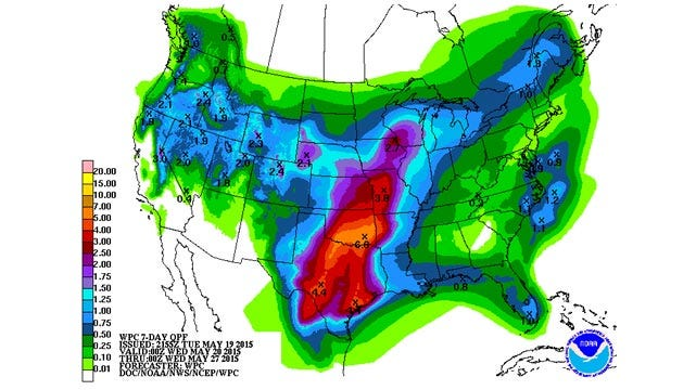 Dick Faurot's Weather Blog: More Rain, Heavy at Times