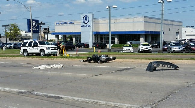 Driver Arrested For Hit-And-Run That Killed Tulsa Motorcyclist
