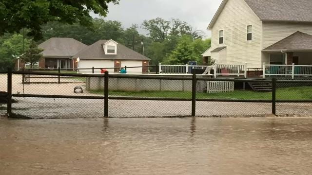 Heavy Rains, Drainage Issues Leave Coweta Family's Home Underwater