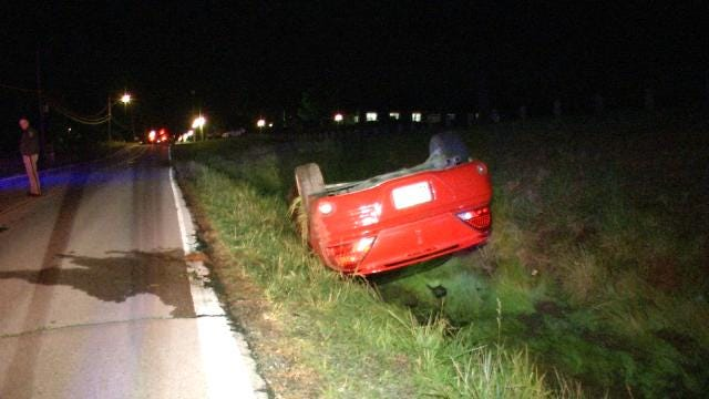 Juvenile Injured In North Sand Springs Car Crash
