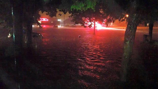 Major Flooding Impacts Green Country Streets, Homes