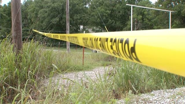 Man's Body Recovered In Creek County Road Ditch