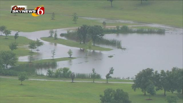 Osage SkyNews 6 HD Flies Over Tulsa Area Flooding