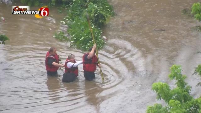 Osage SkyNews 6 HD Overhead For Sapulpa Flood Rescue