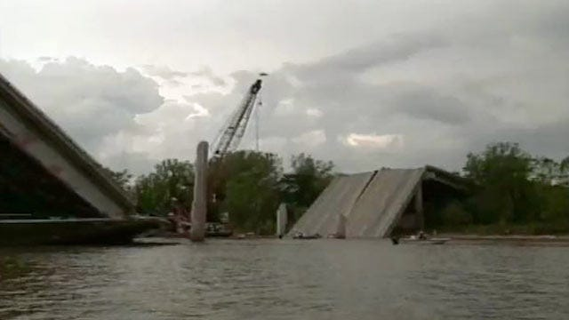Tuesday Is 13th Anniversary Of I-40 Bridge Collapse At Webbers Falls