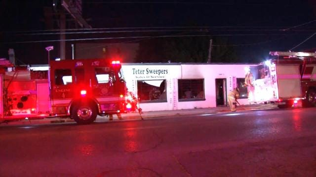 Arsonist Sets Fire To Tulsa Business