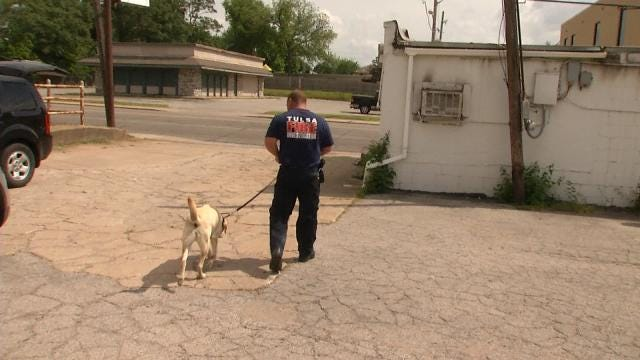 Sniffing Out Arsonists Is Tulsa Fire Investigator's Only Job