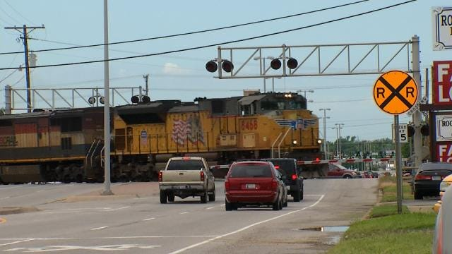 Stalled Train Stalls Claremore Traffic For Hours