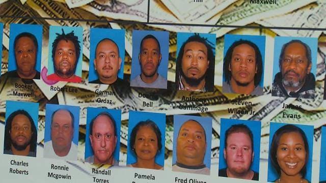 Drug Crackdown Leads To Muskogee Arrests