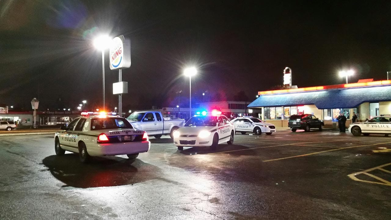 TPD: Concealed-Carry Gunowner Shoots Attempted Robber At Burger King