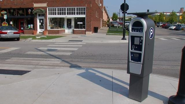 Parking Meter Test Resumes In Tulsa's Brady Arts District