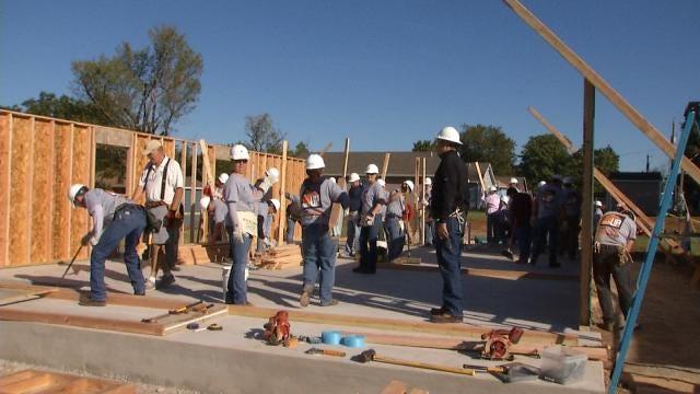 Habitat For Humanity Transforming Tulsa Neighborhood