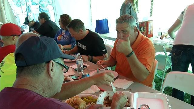 Claremore Holds Barbecue Cook Off To Benefit Boy With Rare Disease