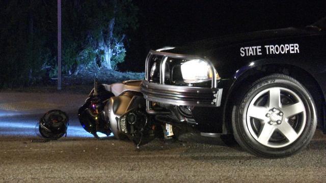 Motorcyclist Crashes In Tulsa Pursuit