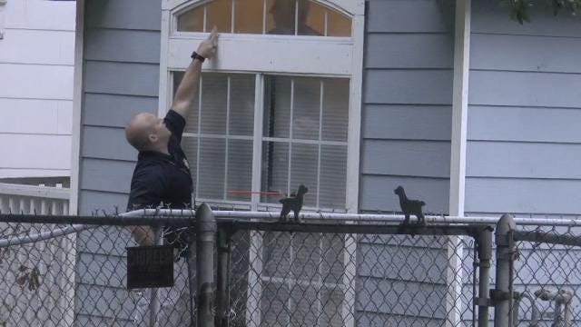 Bullet Hits Headboard In Tulsa Home