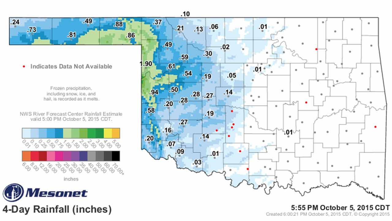 Dick Faurot's Weather Blog: Sunshine Returns With Warmer Temperatures
