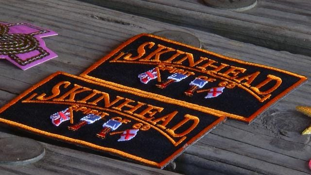 Claremore Dad Says 'Skinhead' Patches Found In Children's Product