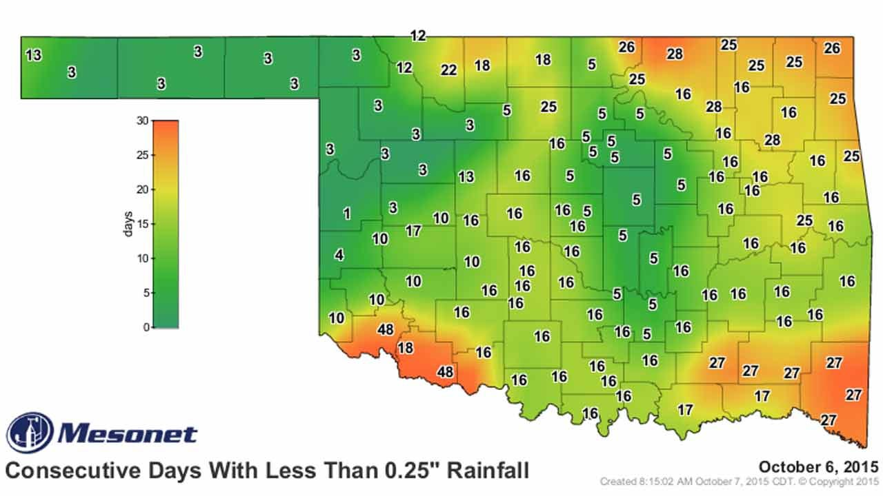 Dick Faurot's Weather Blog: Brief Cool-Down And A Chance of Rain