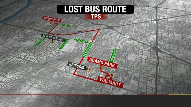 TPS: Unruly Students Made 'Lost Bus' Ride Worse