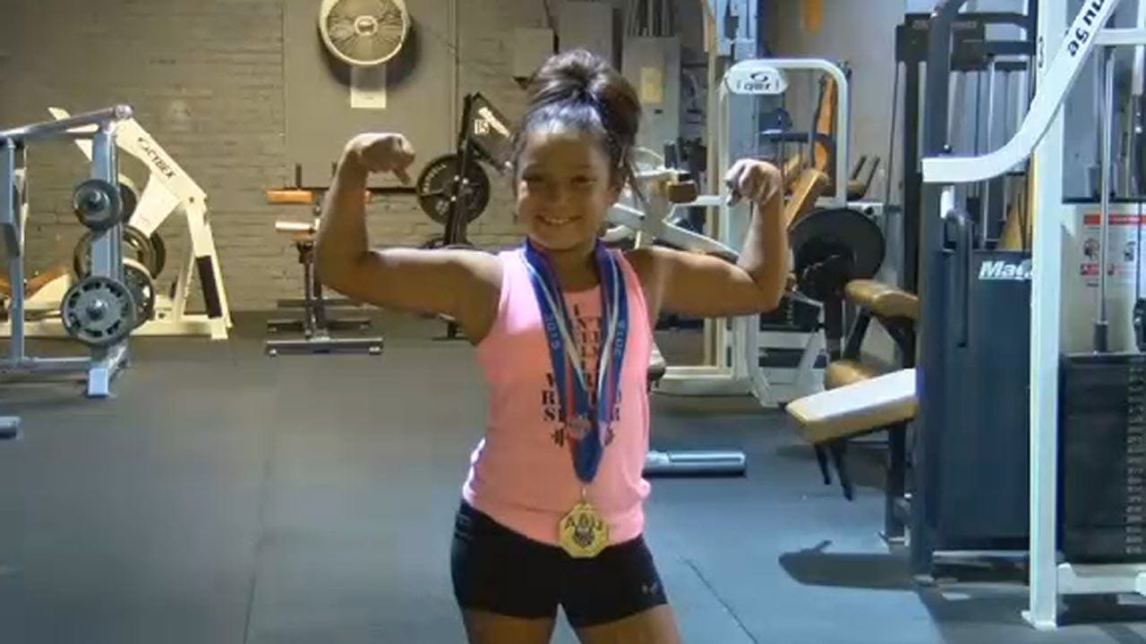 Nine-Year-Old Commerce Powerlifter Heads To World Championships