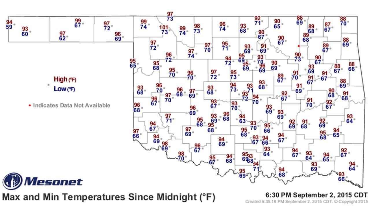 Dick Faurot's Weather Blog: Wash, Rinse, Repeat; Little Day to Day Change