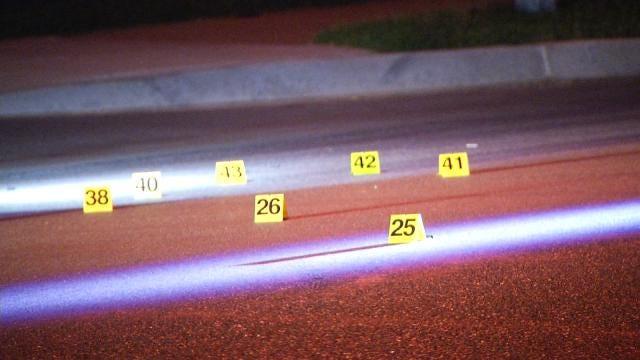 Gunfire Hits Tulsa Home Again