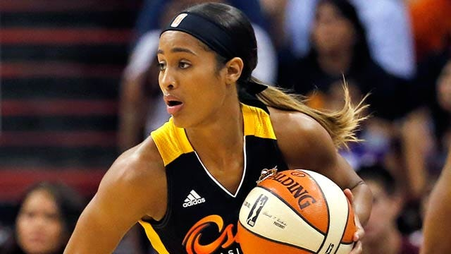 WNBA's Shock Plays Last Game In Tulsa