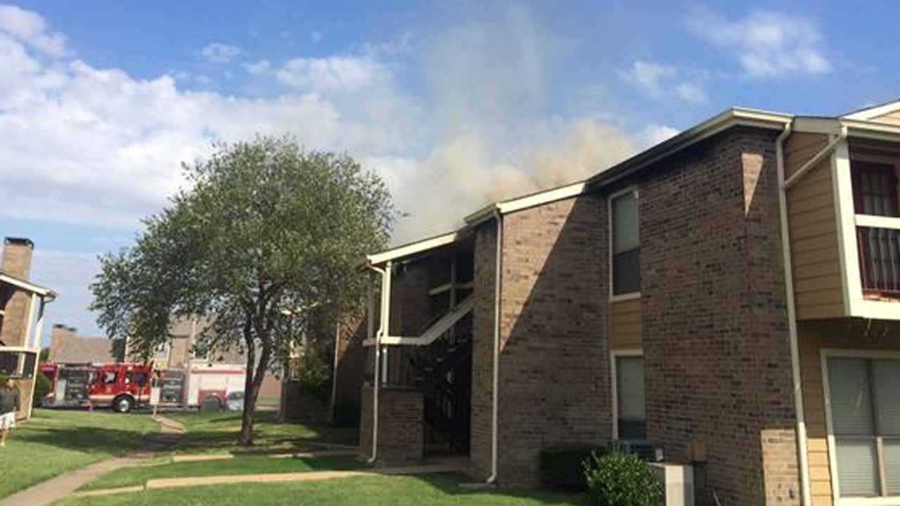 Man Arrested For Arson In Tulsa Apartment Fire