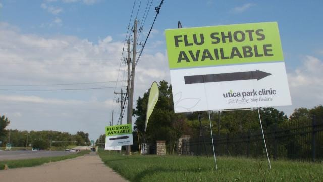 Tulsa Doctors See Flu-Like Symptoms, No Flu Cases Yet