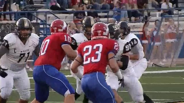 McAlester Beats Durant, 40-7