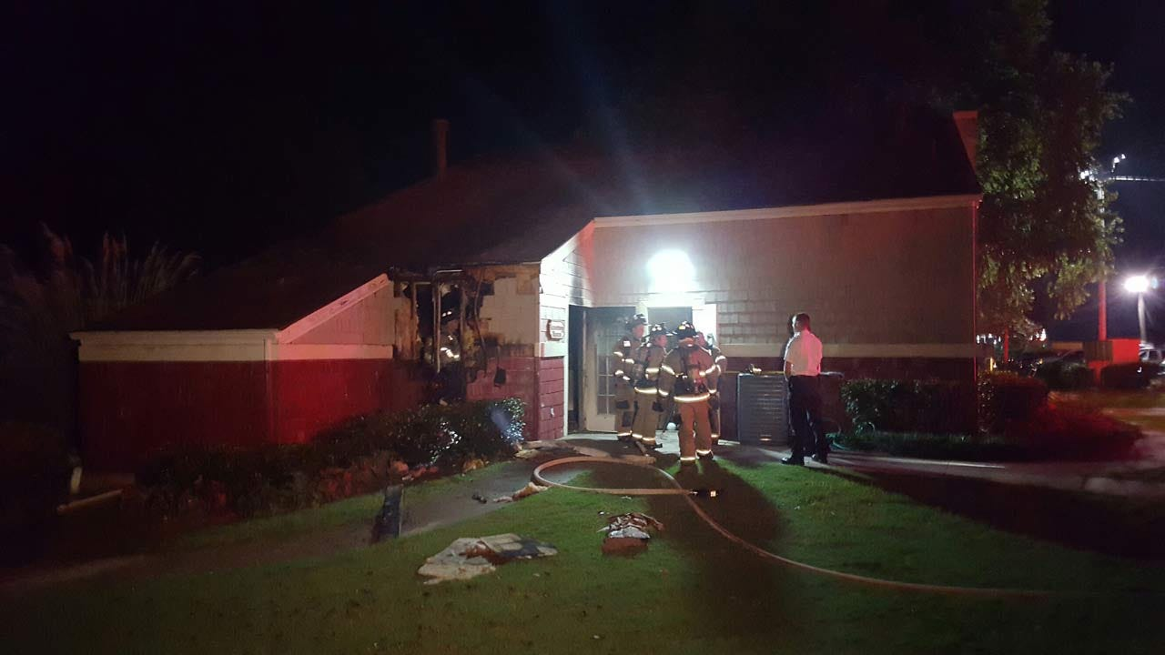 Fire Marshall Investigating Sand Springs Apartment Fire