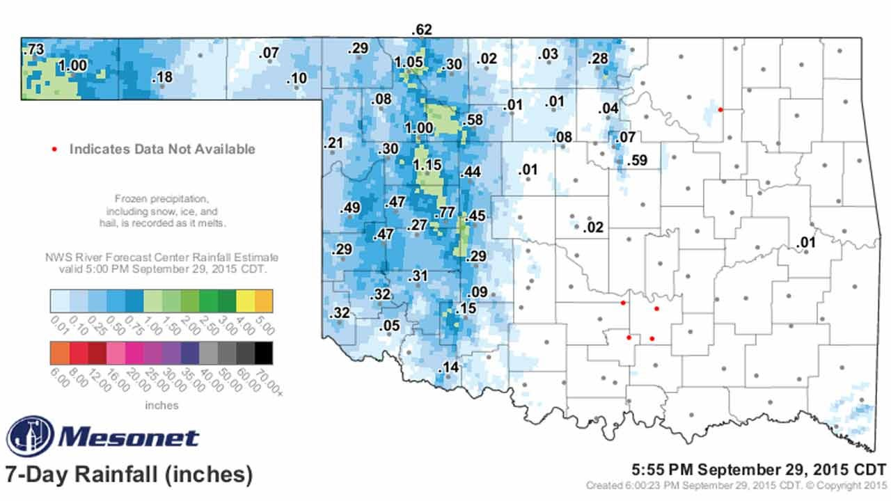 Dick Faurot's Weather Blog: Cooler Weather On The Way