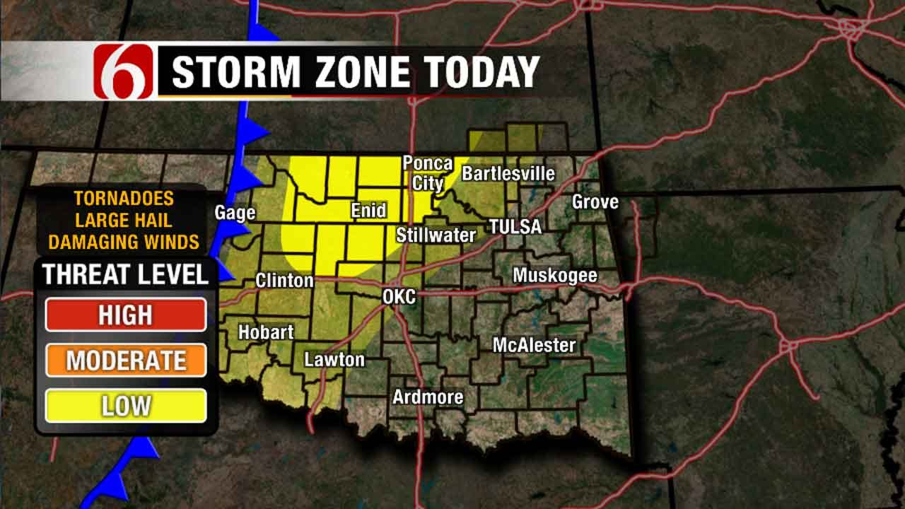 Stacia Knight: Be Prepared For Severe Storms In Oklahoma This Week