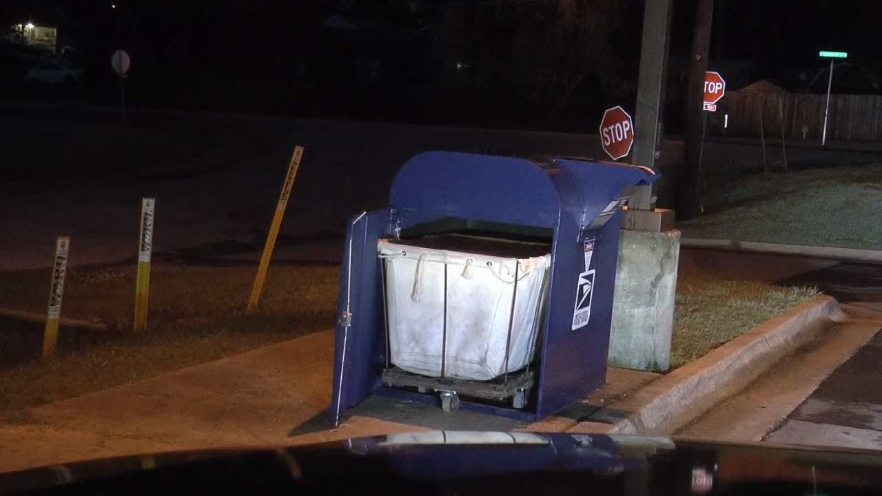 Tulsa Post Office Drop Box Burglarized