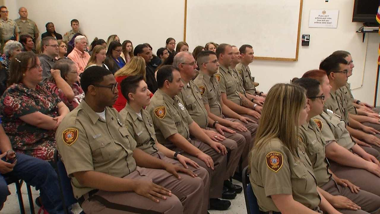 Tulsa County Jail Has 16 New Detention Officers