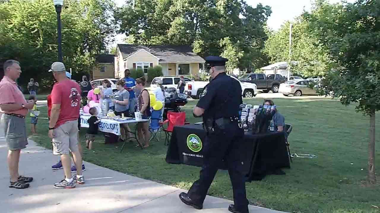 National Night Out Brings Muskogee Police, Community Together