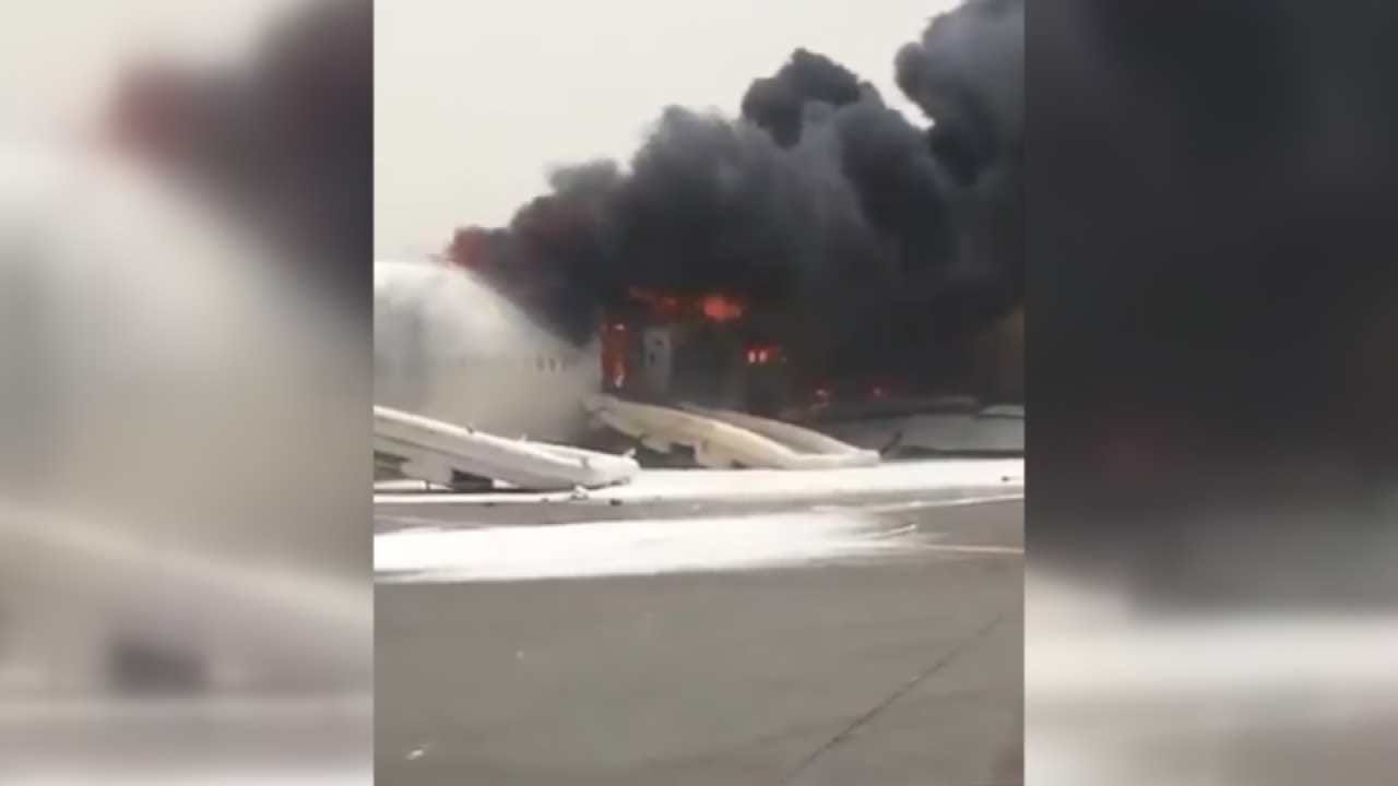 Emirates Airliner With 275 Onboard Crash Lands In Dubai