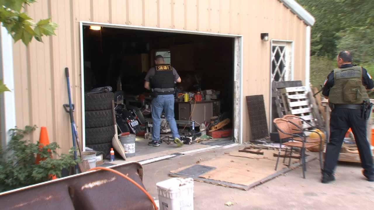 Rogers County Drug Raid Nets 15 Arrests