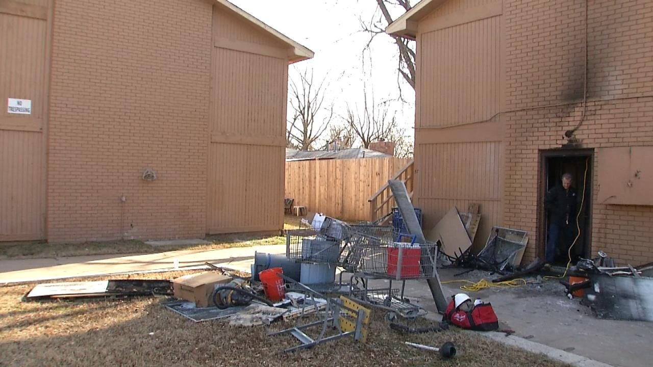 Residents In Need Of Clothes For Children After Tulsa Apartment Fire