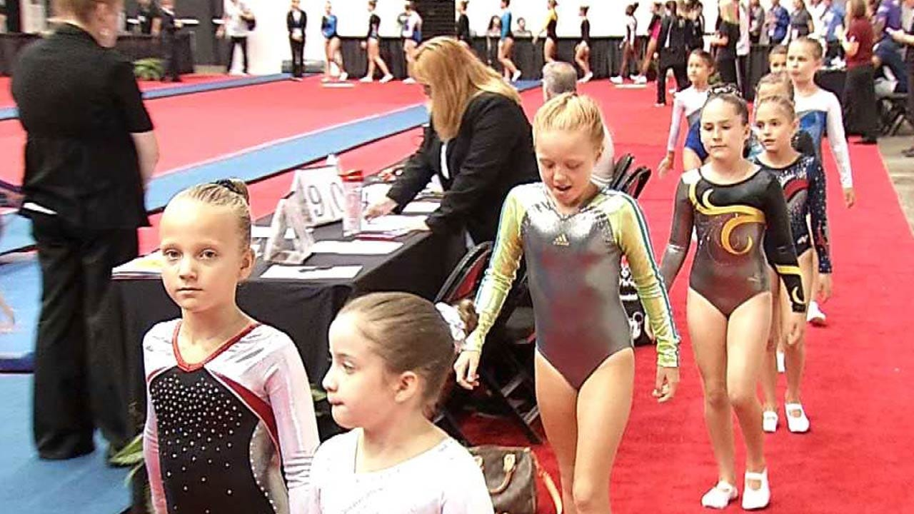 USA Gymnastics: Nation's Top Youth Tumblers, Trampolinists Compete In Tulsa