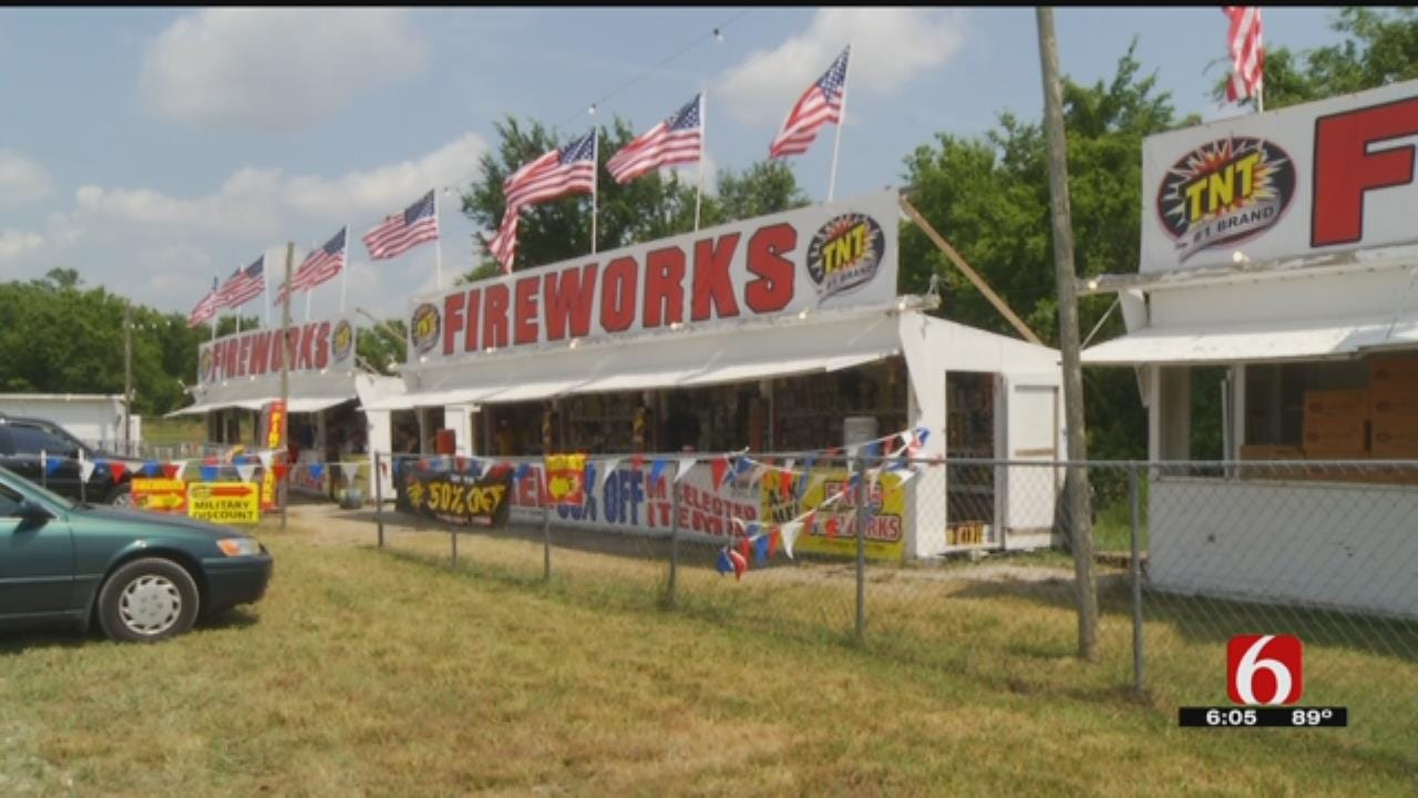 Marching Band Raises Money Through Fireworks Stand During Oklahoma Budget Crisis
