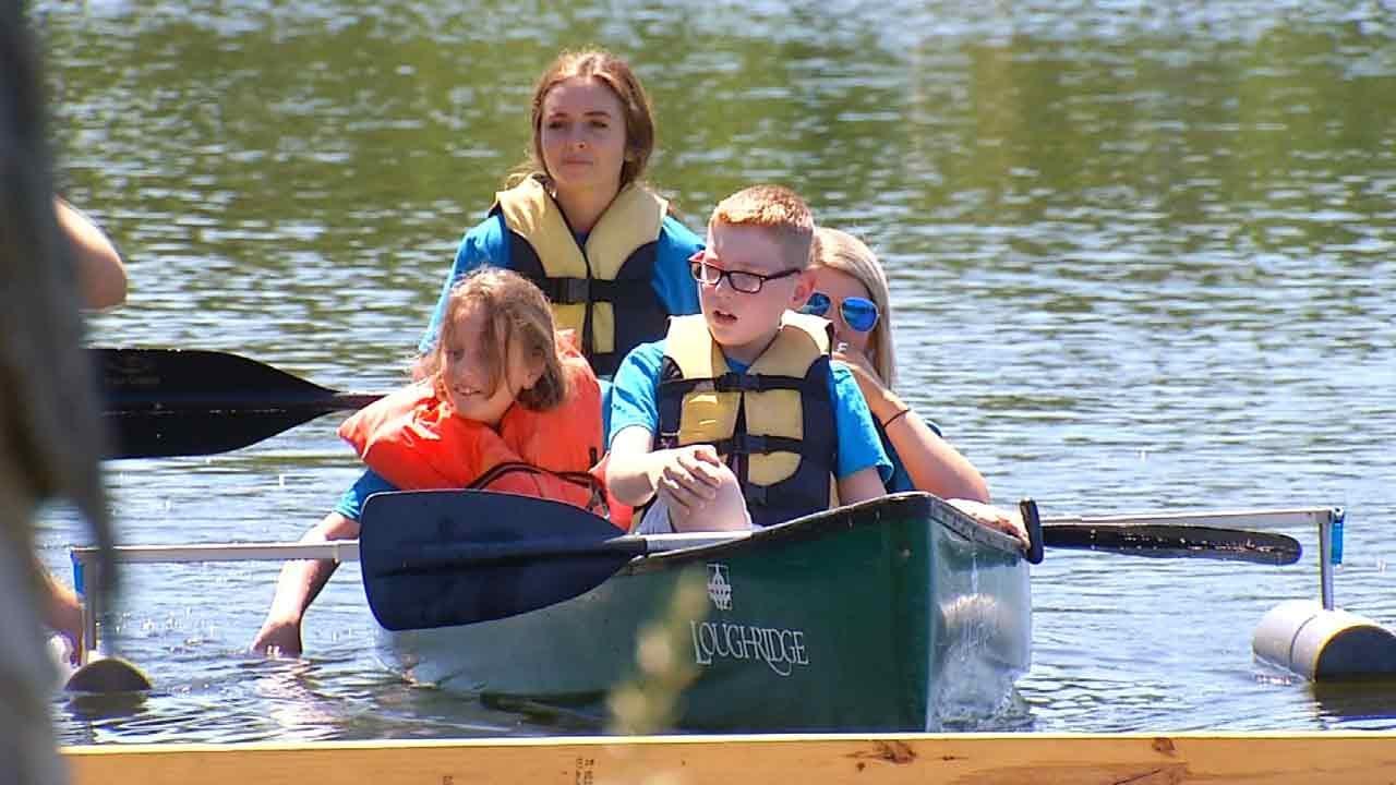 Kids With Disabilities Have Summer Fun At Tulsa Camp