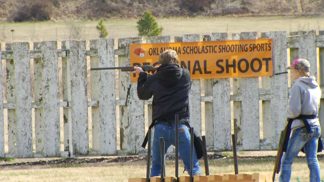 Oklahoma Students Take Aim At Trap Shooting Competition