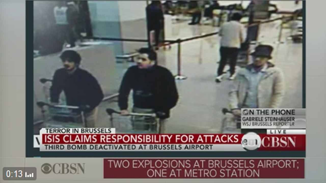 Federal Police In Belgium Issue Wanted Notice For Bombing Suspect