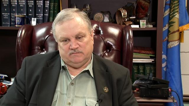 Grand Jury Indicts Wagoner County Sheriff; Seeks Removal From Office