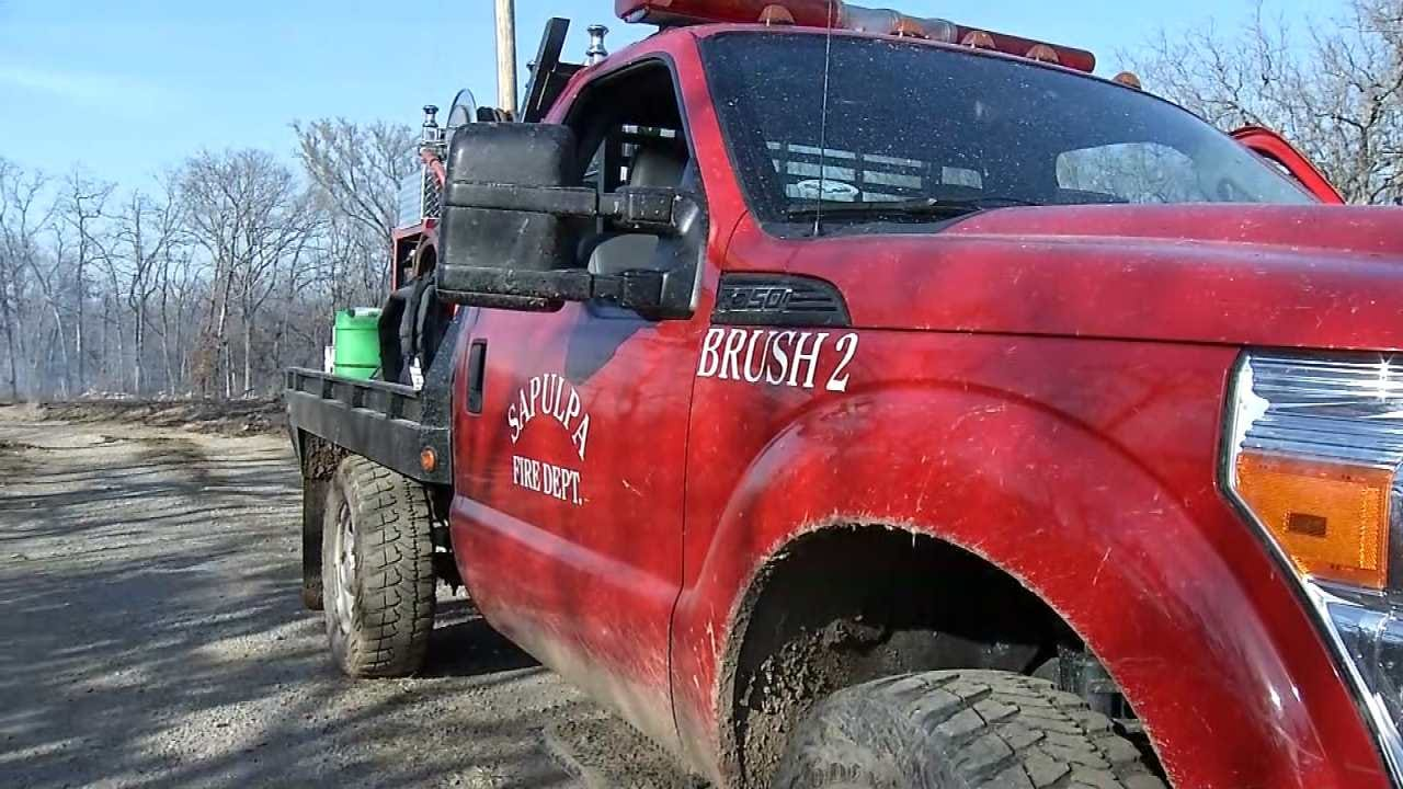 Creek County Grass Fire Under Control After Hours Of Fighting
