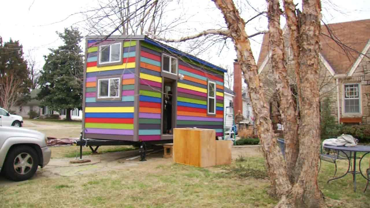Tulsa Woman Excited To Move Into 'Tiny House'