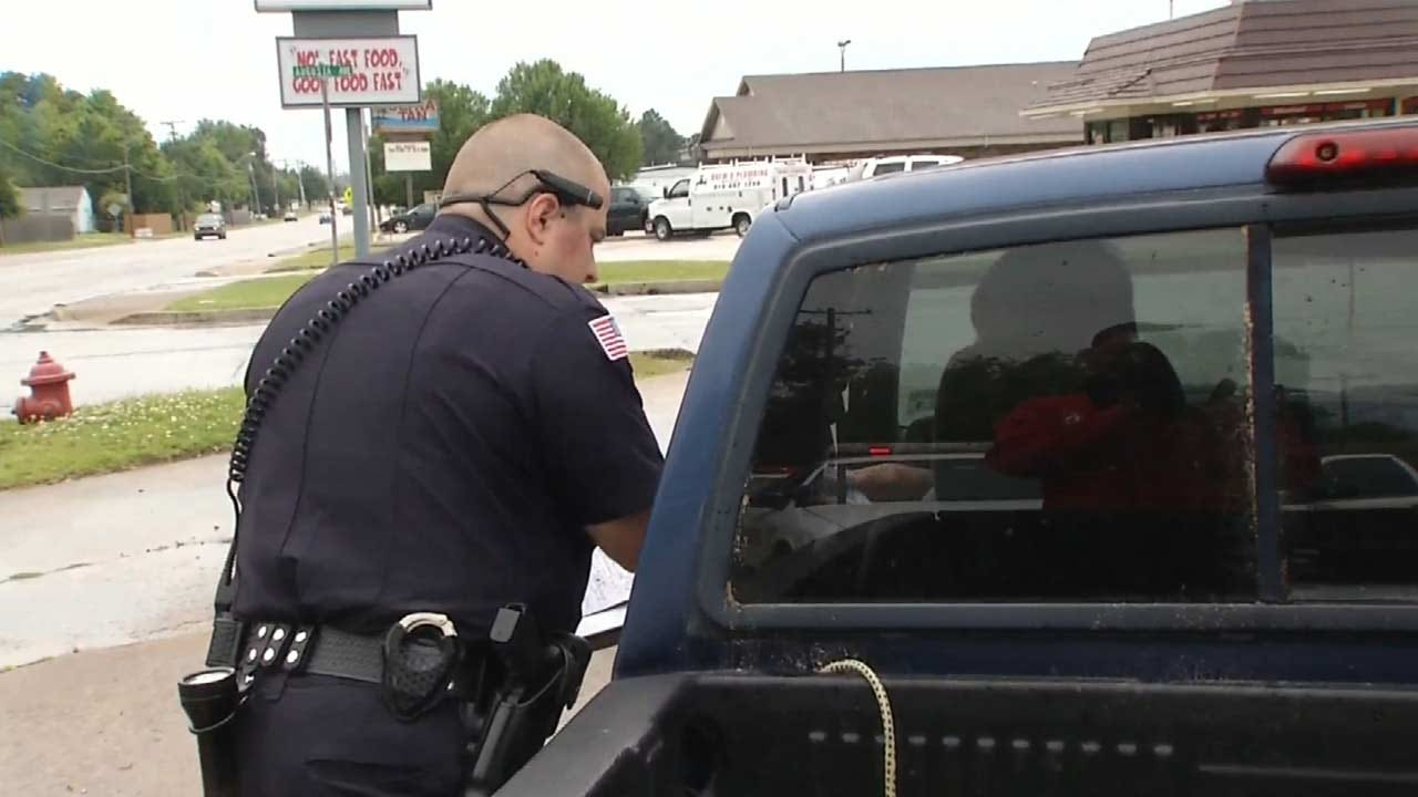 Green Country Police Departments Kick Off 'Click It Or Ticket' Campaign
